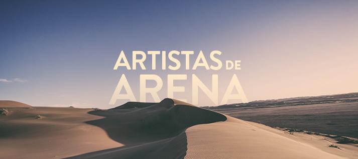 artista de arena