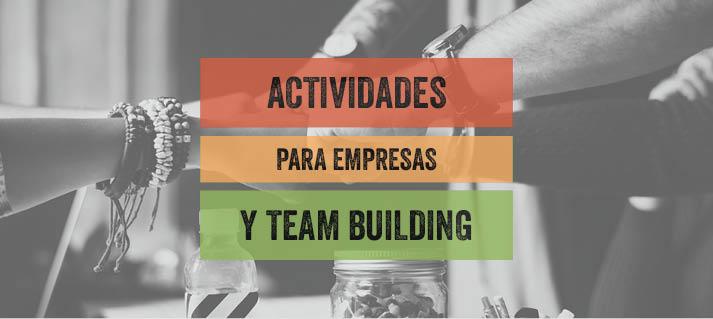 actividades para empresas y team building