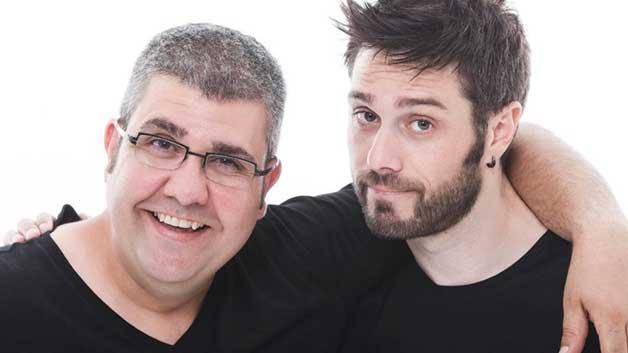Imagen de Los cómicos Dani Martínez y Florentino Fernández estrenan el 28 de marzo en el Palacio de Deportes de Madrid el espectáculo de humor #vuelvenNOvuelven