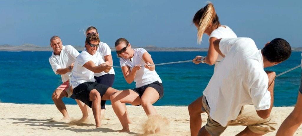 olimpiadas en la playa para empresas