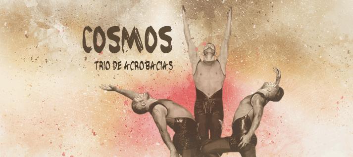 trio de acrobacias cosmos
