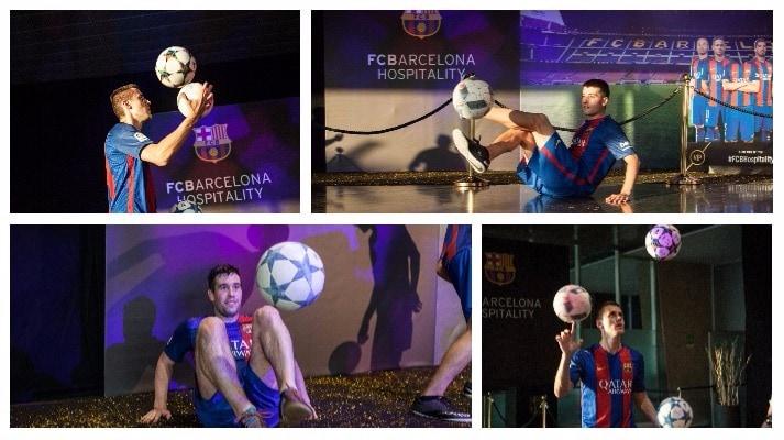 Imágenes de profesional de fútbol freestyle