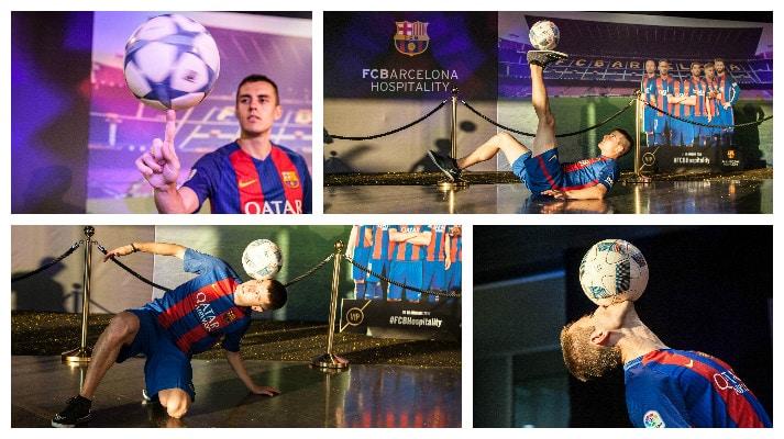 Futbol Freestyle, profesionales del football freestyle