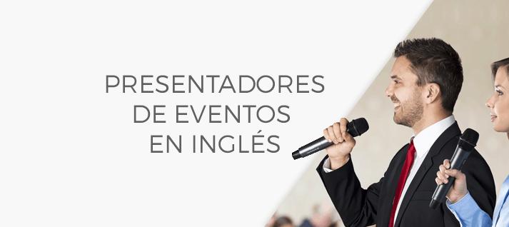presentadores de eventos en inglés