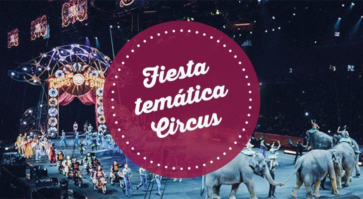 contratar fiesta temática circus