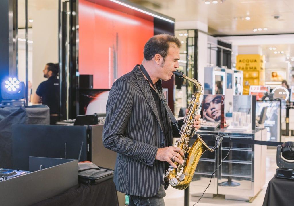 contratar saxofonista para eventos